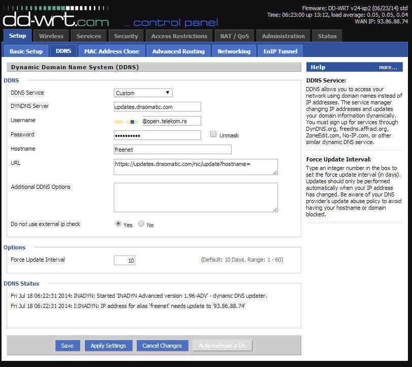 3547 (DDNS service on custom settings broken) – DD-WRT