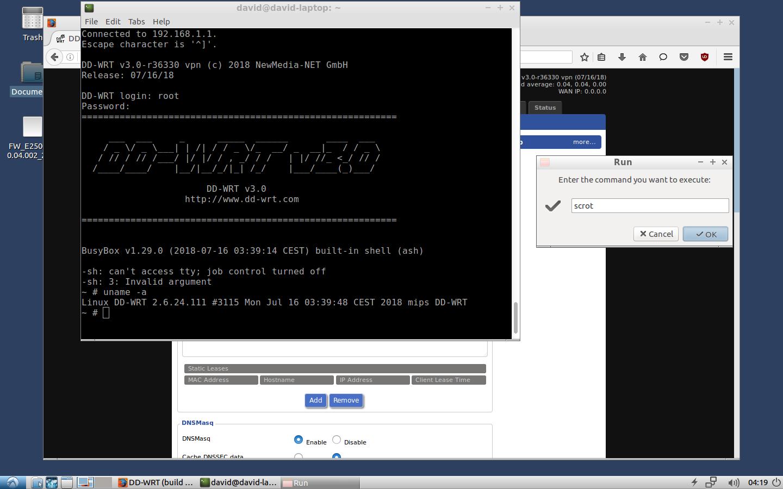 6373 (CLI shell broken Broadcom K2 6 builds r36330+ (E4200
